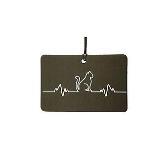 Kat hjerterytme puls bil luftfriskere