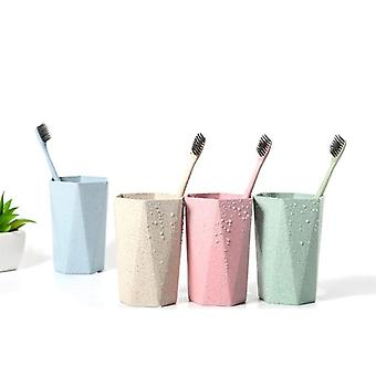 Simple Portable Washing Storage Organizer Cup - Toothbrush Holder For Bathroom