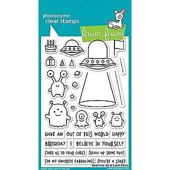 Lawn Fawn Beam Me Up Clear Stamps