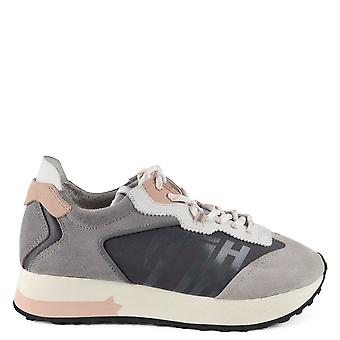 Ash TIGER Trainers In Grey And Pink
