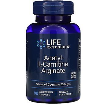 Lebensverlängerung, Acetyl-L-Carnitin Arginat, 90 vegetarische Kapseln