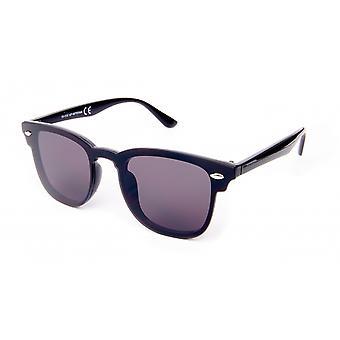 Sonnenbrille Unisex    Schwarz/Rauch Reisender