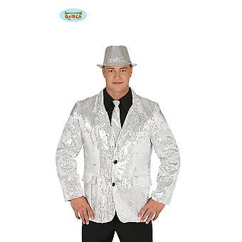 Generique - mens paillettes disco veste