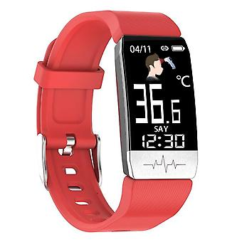 Thermometer Bracelet With Temperature Immune Measure -Heart Rate Blood Pressure Monitor