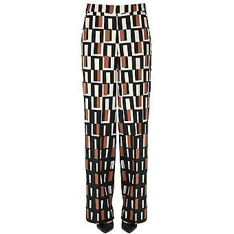 Malìparmi Ezgl194039 Femmes-apos;s Pantalon en polyester multicolore
