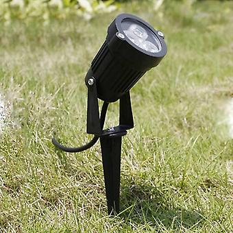 3w/9w  Dc12v Waterproof Led Spot Light With Spike For Landscape Garden Outdoor Backyard