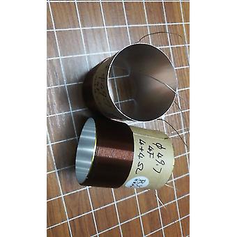 49.7mm קול קול וופר רמקול בס 4 שכבה כפול קבוצה Coil 4+4 Ohm