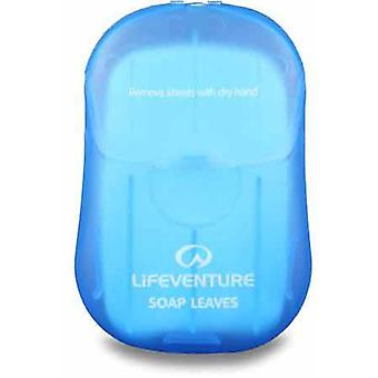 Lifeventure Outdoor Washing and Shaving Leaves 50 Pcs - Soap Leaves