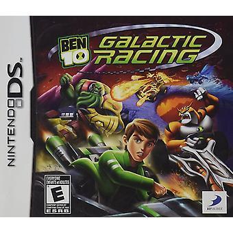 Ben 10 Galactic Racing Nintendo DS Game (Italian Box - Multi-Language In Game)