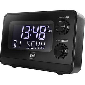 Dual DAB CR 10 Radio wekker DAB+, FM DAB+, FM Zwart