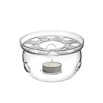Mini Portable Clear Heat Resisting Teapot Holder - Base Koffie, Water, Thee