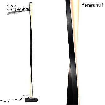 Modern Led Floor Lamp For Living Room, Standing Pole Light For Bedrooms/offices