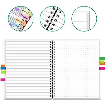 Notebook Smart Erasable Reutilizável, Diário micro-ondas wave cloud apagar bloco de notas