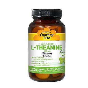 Country Life L-Theanine, 100 Mg, 60 Loz