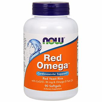 Now Foods Red Omega, 90 Softgels