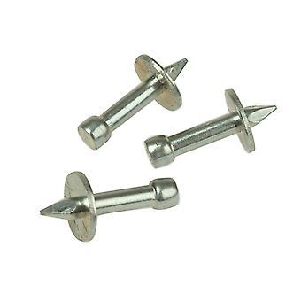 Rawlplug 04 044 Washered Masonry Nails 3.7 x 25mm Pack of 100 RAW04044