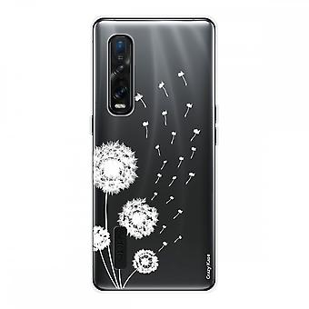 Hull For Oppo Find X2 Pro In Silicone Soft 1 Mm, Pissenlit Flower