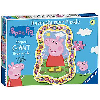 Ravensburger Peppa Gris 24pc Giant gulv puslespil