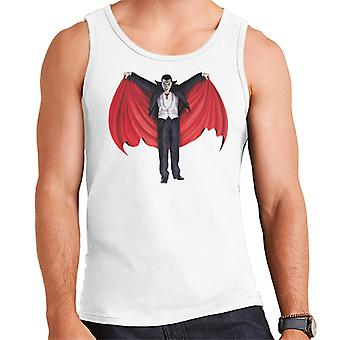 Dracula Cape Full Men's Vest