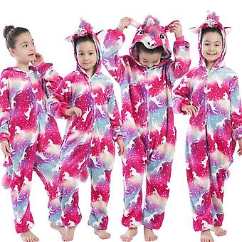 Copii Unicorn Pijamale Animal Salopete Salopete, Onesie Panda Pijama