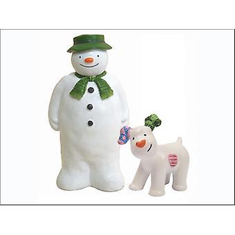 Anniversary House The Snowman & Snowdog Figurines BX188