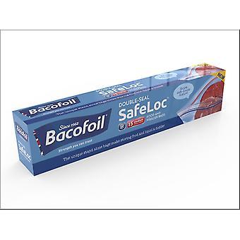 Baco Double Seal Safeloc Food & Freeze Medium x 15 86B13