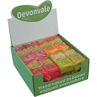 Devonvale Crumble Urval - Blandad Box 80g x24