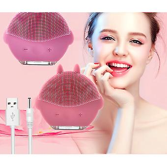 Deep Pore Cleaning Mini Usb Facial Massager Brush