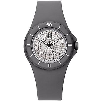 Light time watch silicon strass l122gr