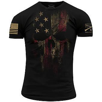 Grunzen Sie Stil amerikanischer Reaper 2.0 T-Shirt-schwarz