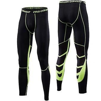 Mens Tights Fitness Sports Leggings Running Pants