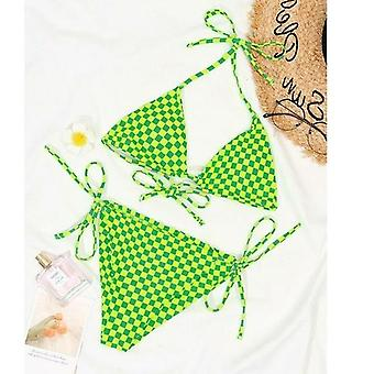 Lattice Bikini Dreieck Bademode