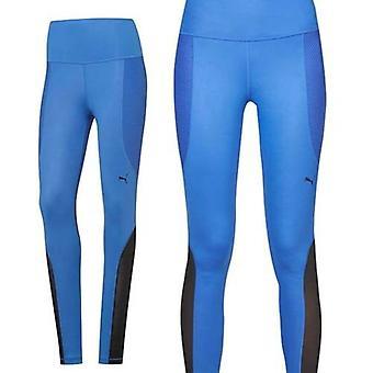 Puma PWRSHAPE Dazzling Blue Dry Cell Polyester Womens Tights 514260 02 RW31