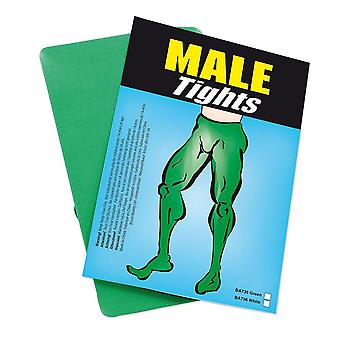 Bristol nieuwigheid volwassenen kerst fancy dress party viering accessoire mannelijke panty's groen