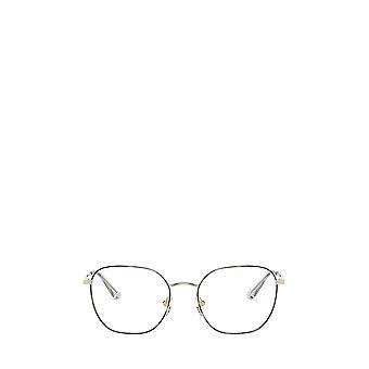 Vogue VO4178 top havana / pale gold female eyeglasses