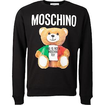 Moschino Couture Moschino Teddy Bear Crew Neck Sweatshirt