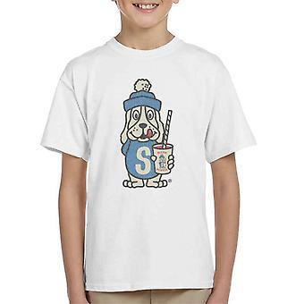 Slush Puppie Distressed 70's Logo Art Kid's T-Shirt