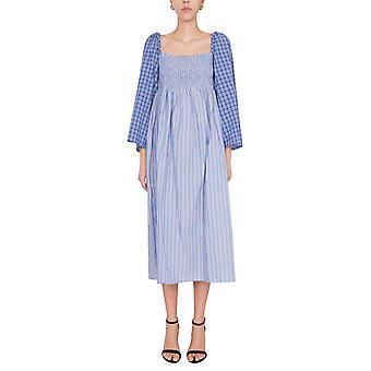 Baum Und Pferdgarten 21628c7230 Women's Blue Cotton Dress