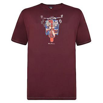 Ben Sherman Scooter Print T-Shirt