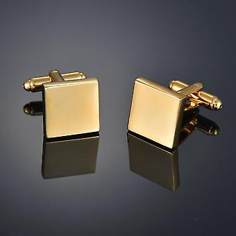 Gold Color Cufflinks, Letters/alien/square/dragon/maple Leaves/balance/name