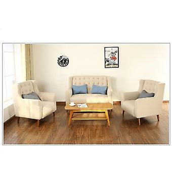 Office Furniture Hotel Coffee Shop Sofa Chairs Fabric Three Pieces Sofa Sets