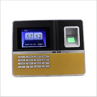 Uku H6 Fingerprint Attendance Machine Sign-In Fingerprint Puncher Identification Signature English A