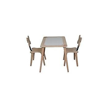 Wooden Child Desk Chair Set