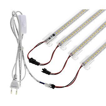 Led Tube Ac 220v  110v High Brightness 8w 72leds 50cm Energy Saving Fluorescent
