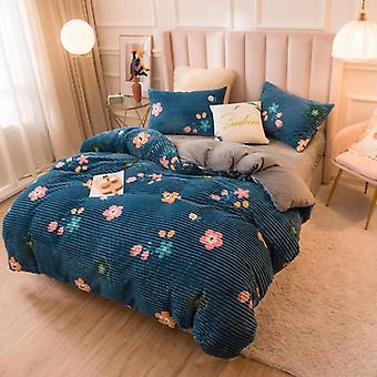 Velvet Duvet, Sofa Bed Cover, Blanket - Soft Breathable Comforter Cover