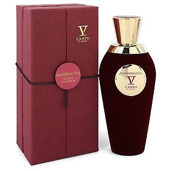 Mandragola V Extrait De Parfum Spray (Unisex) By Canto 3.38 oz Extrait De Parfum Spray