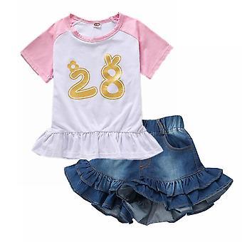 3-8t Baby Shorts Verão Calças Curtas De Jeans Macios