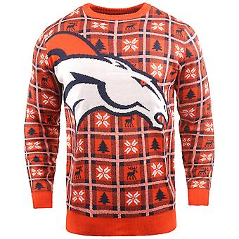 NFL Ugly Sweater XMAS Knit Sweater - Denver Broncos