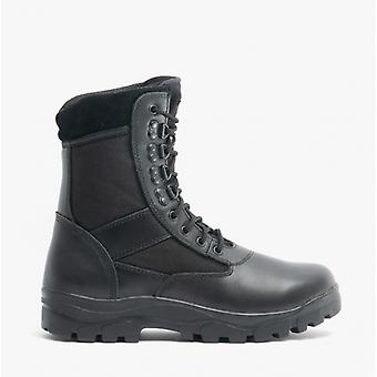 Grafters G-force Unisex Non-safety Combat Boots Noir