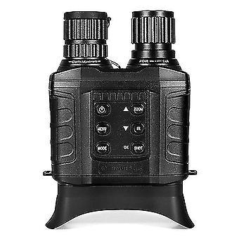 Night vision binoculars 4x digital zoom ir night vision scope with 500m full dark distance camera video modes with 32gb tf card